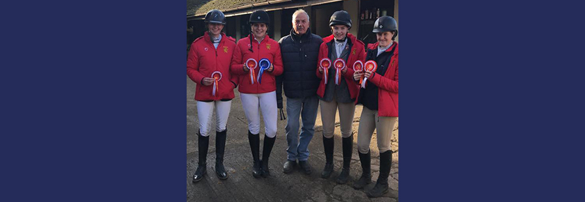 Equestrian Success for the 2nd Team