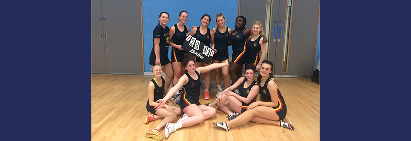 Netball 4s Cup Success Against Leicester
