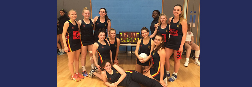 Local Derby Success for the Netball 4s