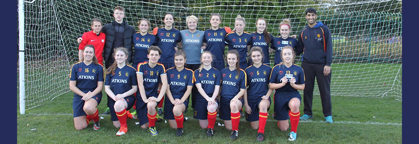 Women's Football 2s Dominate in the Cup