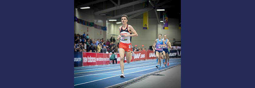 PBs all round at the New Balance Indoor Grand Prix