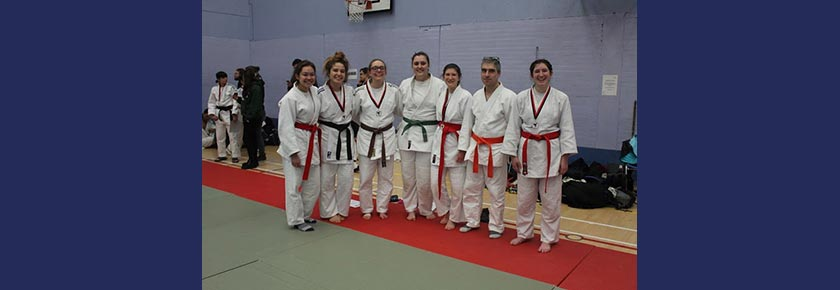 Massive Medal Haul for UoB Judo