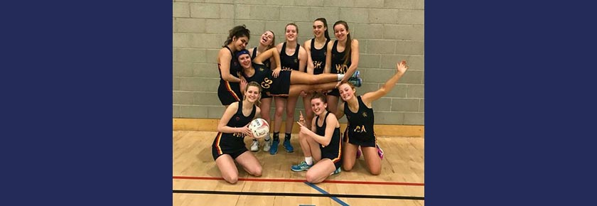 Conference Cup Victory for Netball 2s
