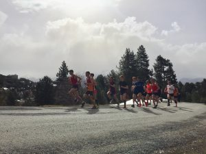 The guys doing a hill session