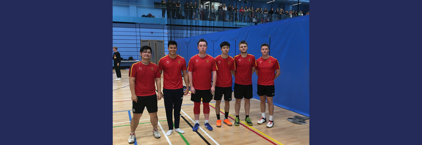 Badminton teams record home and away wins