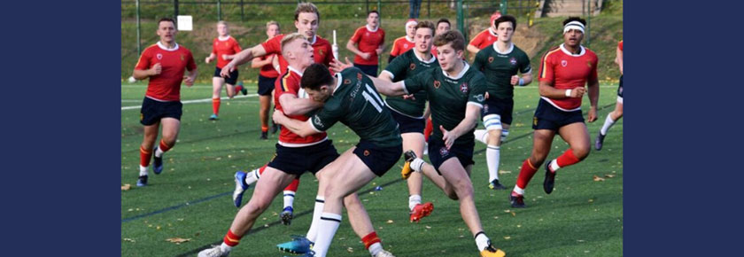 Rugby 1sts see off Edinburgh fightback