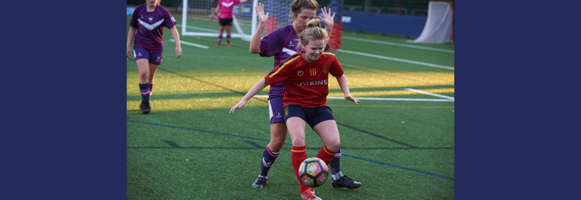 Women's football come from behind to win