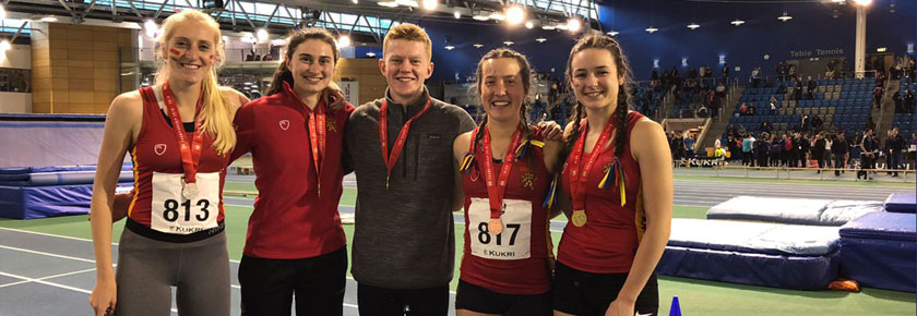 BUCS Delight for UoB Athletes