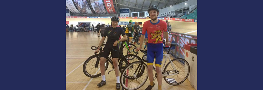 Medals at Manchester for UoB Cycling