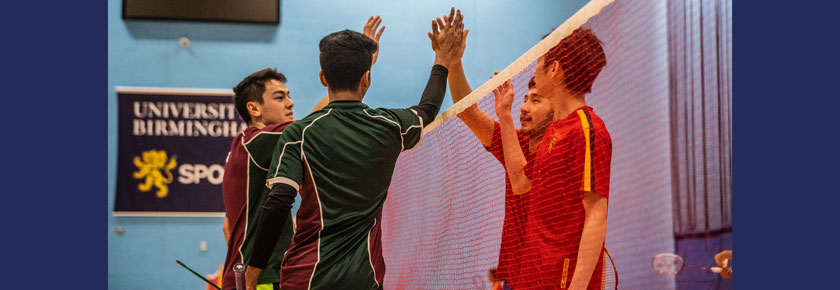 Final Push for Tennis and Badminton