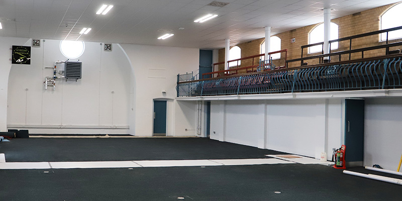 University s new tiverton gym sport and fitness birmingham - University of birmingham swimming pool ...