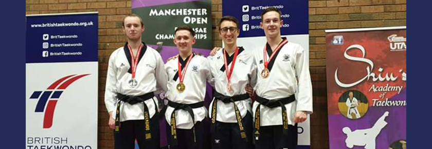Early season success for UoB Taekwondo