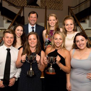 2016 sports awards summer 2016 winners with trophy